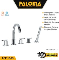 PALOMA FCP 1606 Keran Mixer / Kran Air Bathtub / Shower Mandi Panas Dingin