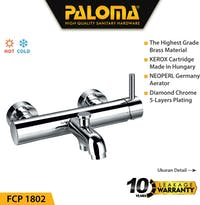 PALOMA FCP 1802 Keran Mixer / Kran Air Bathtub Shower Mandi Panas Dingin