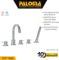 PALOMA FCP 1806 Keran Mixer / Kran Air Bathtub Shower Mandi Panas Dingin