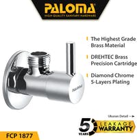 PALOMA FCP 1877 Keran / Kran Air Stop Toilet WC Jet Shower Valve Tembok