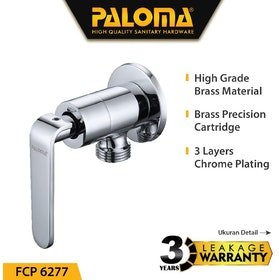 PALOMA FCP 6277 Keran / Kran Air Stop Toilet WC Jet Shower Valve Tembok