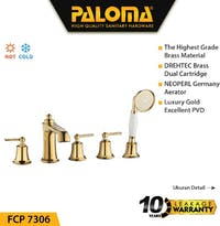 PALOMA FCP 7306 Keran Mixer / Kran Air Bathtub Shower Mandi Panas Dingin