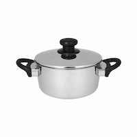 Master Chef Stainless Dutchoven 20cm Tutup Stainless