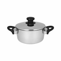 Master Chef Stainless Dutchoven 22cm Tutup Stainless