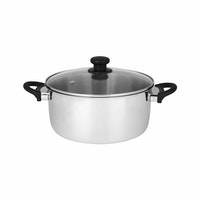 Master Chef Stainless Dutchoven 24cm Tutup Stainless