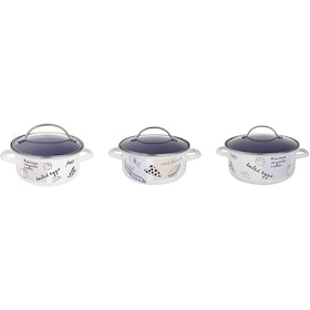 Chefina Family Cooking Panci Masak Dutchoven Set 16/20/24cm