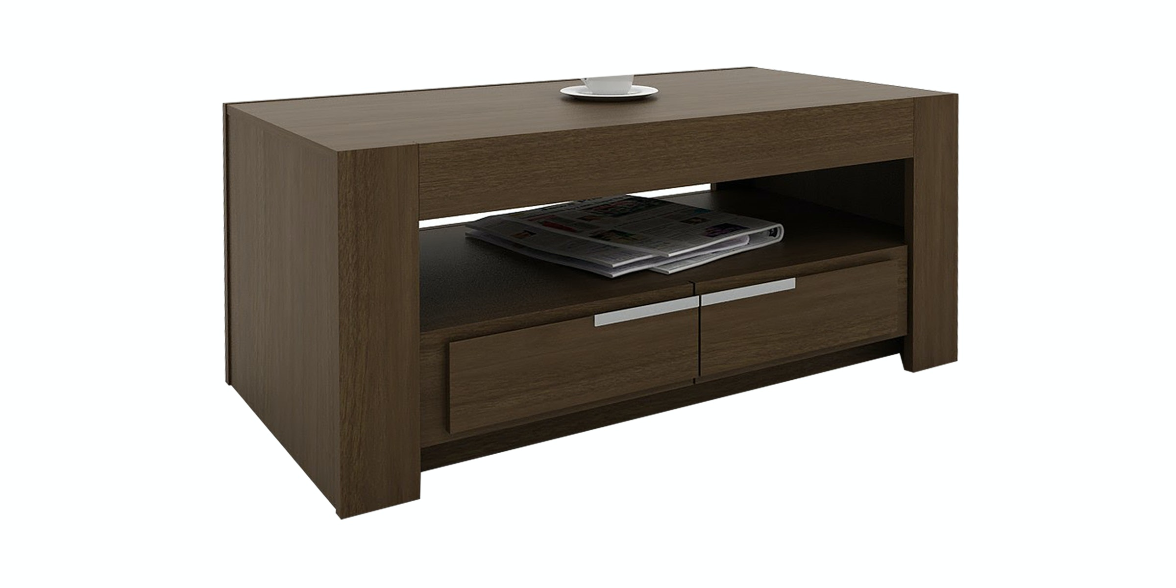 Pro Design Oregon Meja Tamu - Springfield Walnut