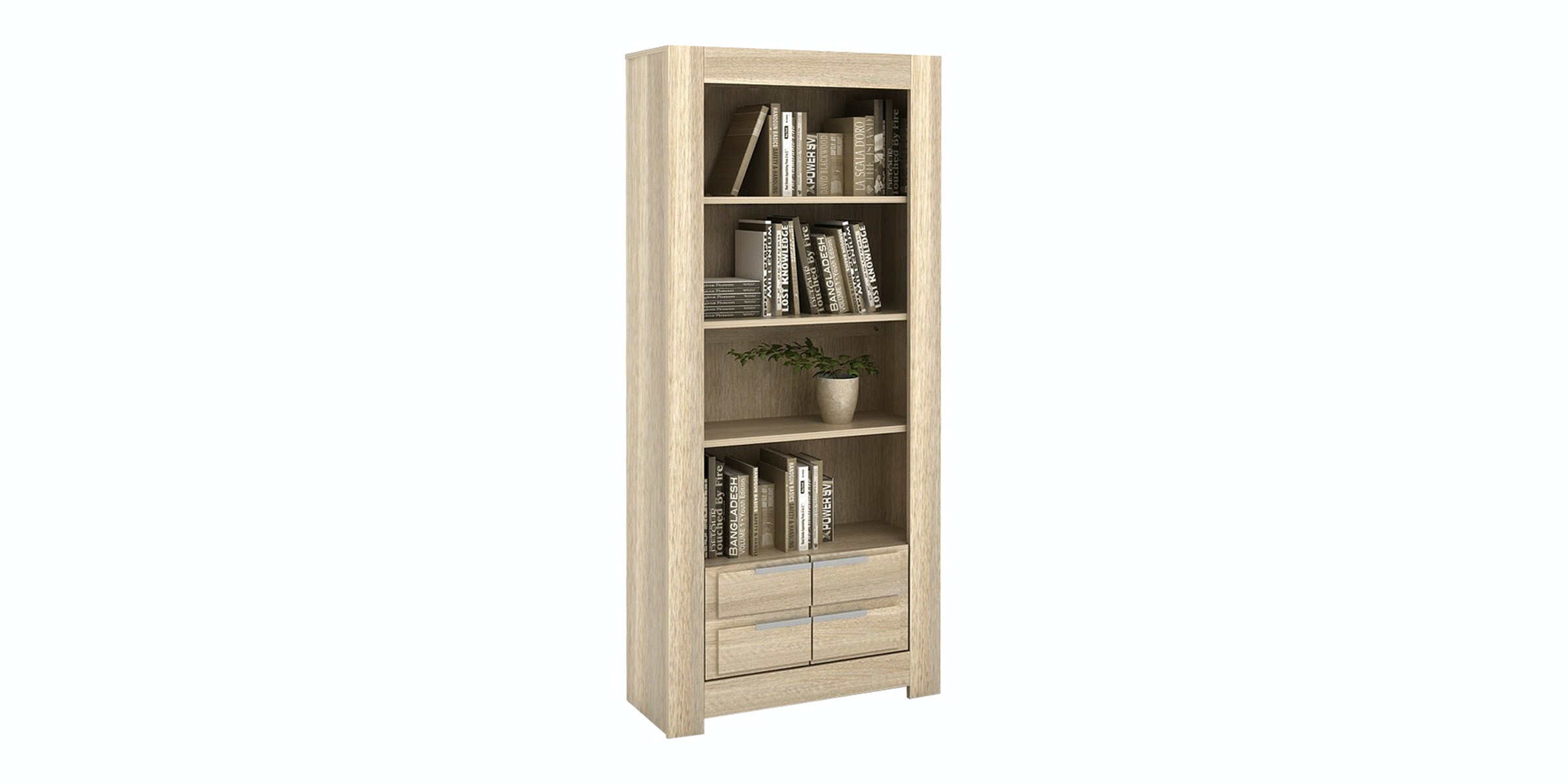 Pro Design Oregon Rak Buku - Light Oak