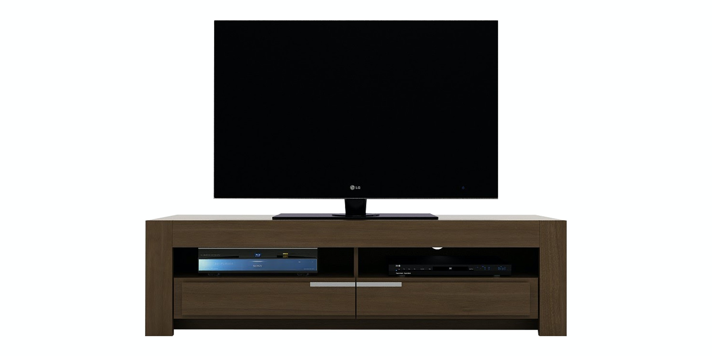 Pro Design Oregon Rak TV 150 - Springfield Walnut