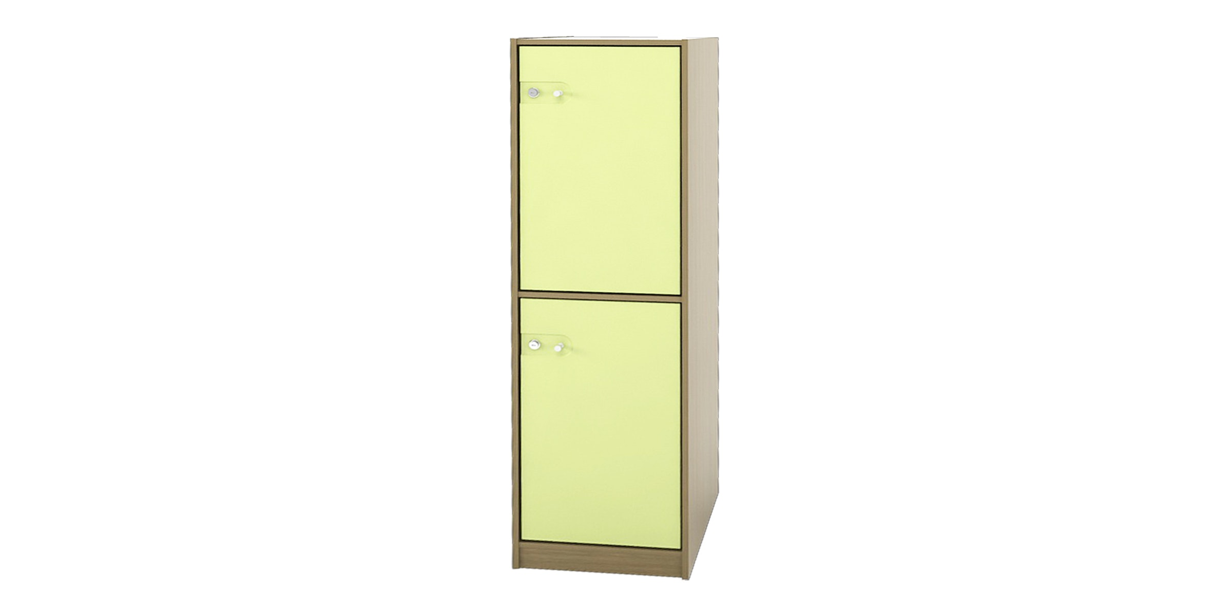 Pro Design Arla Loker 2 Pintu - Home Oak - Light Green