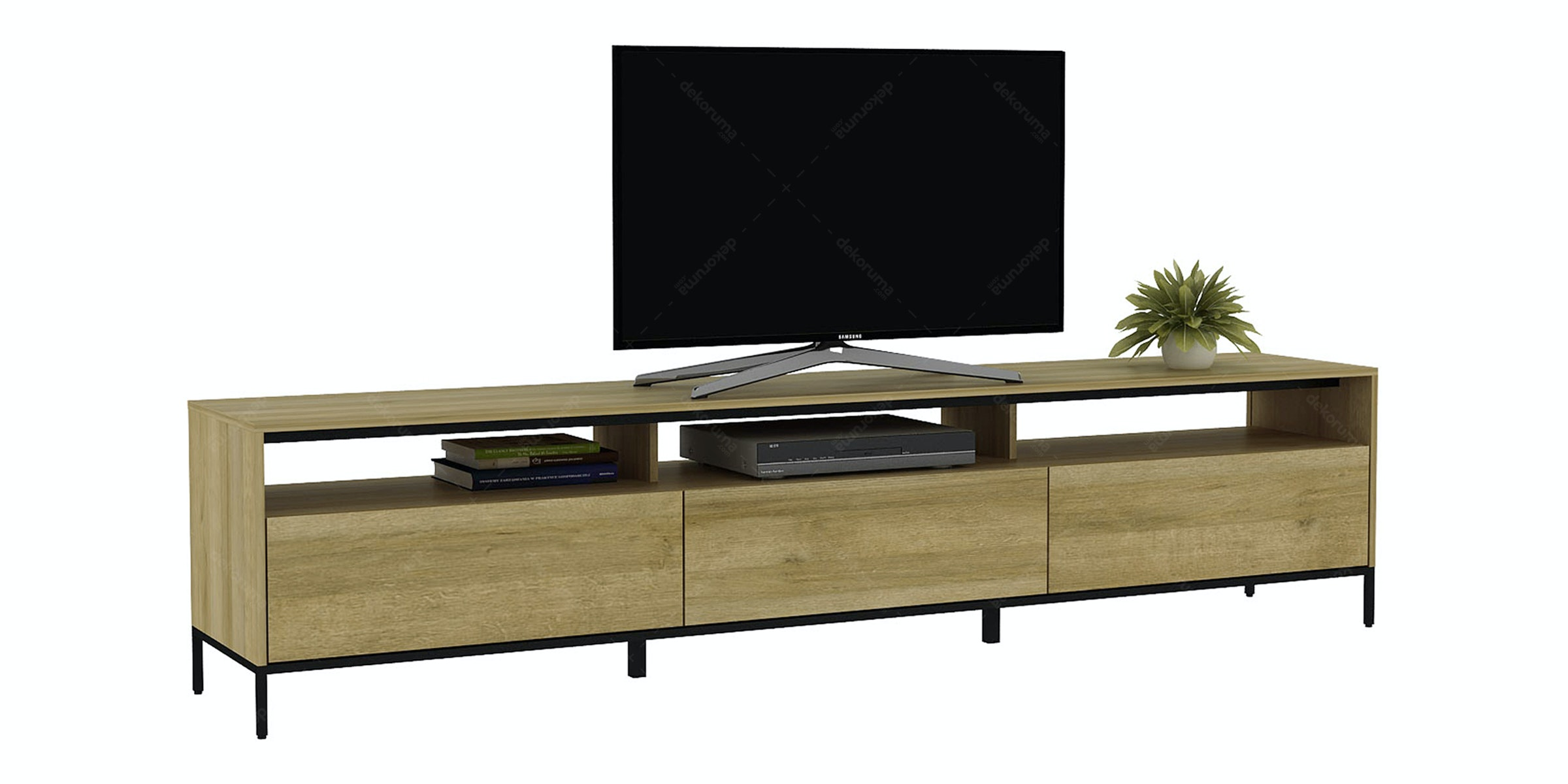 Pro Design Petra Rak TV 225 Yellow Oak