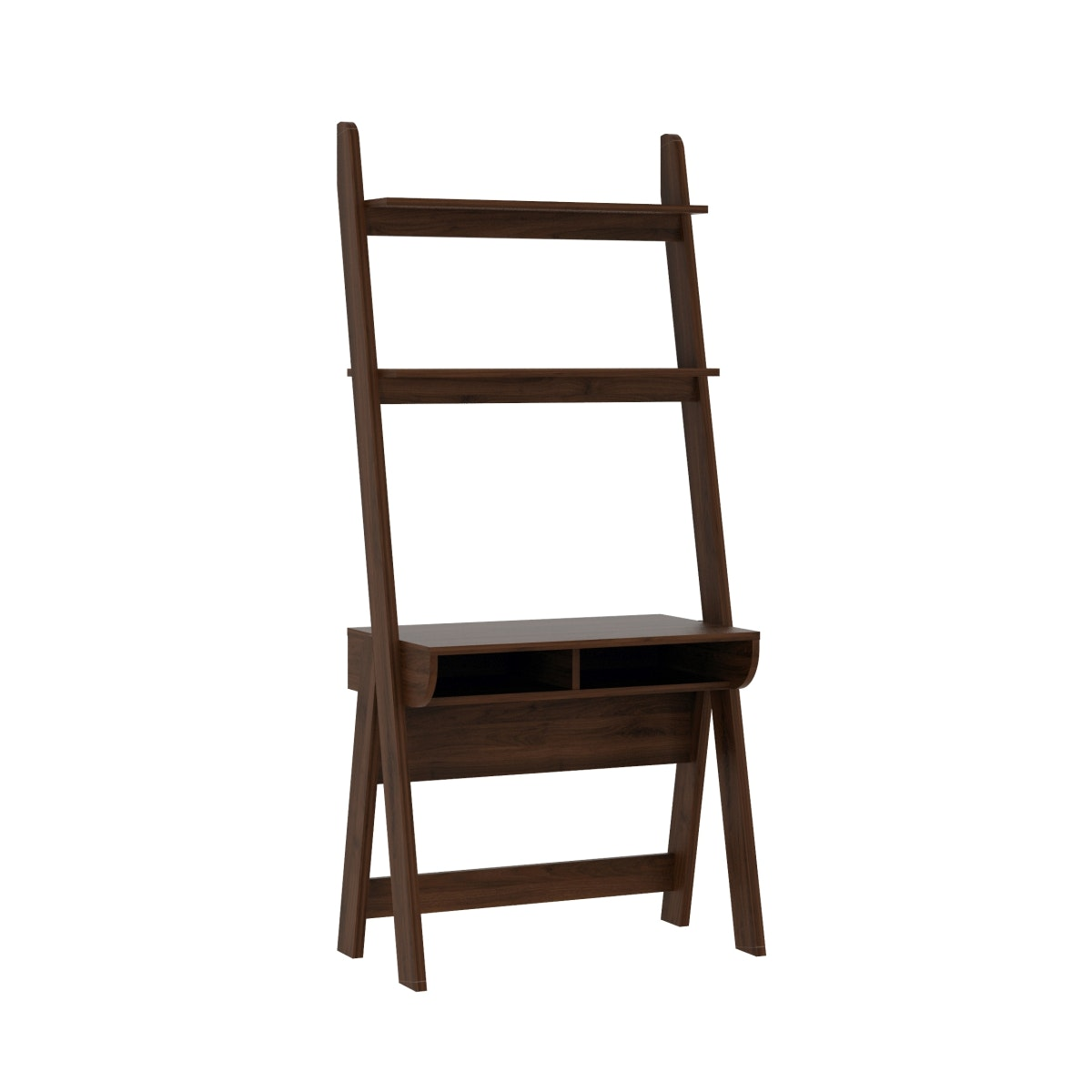 Pro Design Lambda Unit Rak Meja Kerja - Brown Walnut