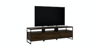 Bavarian Kabinet Tv Brown Walnut (Viso Tv150)