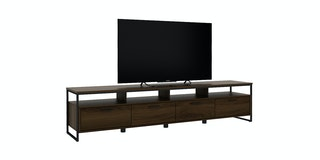 Bavarian Kabinet Tv Brown Walnut (Viso Tv200)