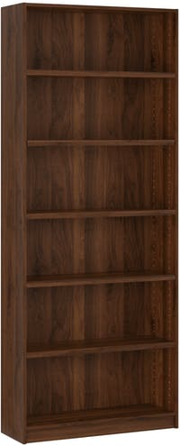 Pro Design Aquila Rak Buku Ukuran 80 Tinggi - Brown Walnut