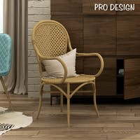 Pro Design Elok Kursi Rotan - Natural Light Rattan