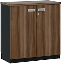 Pro Design Gunter Kabinet Kantor - French Walnut - Black