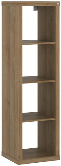 Pro Design Kobos Unit Rak 1x4 - Yellow Oak