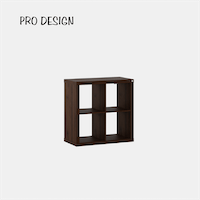 Pro Design Kobos Rak Display 2x2 - Brown Walnut