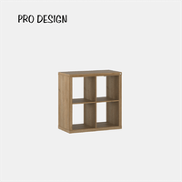 Pro Design Kobos Rak Display 2x2 - Yellow Oak