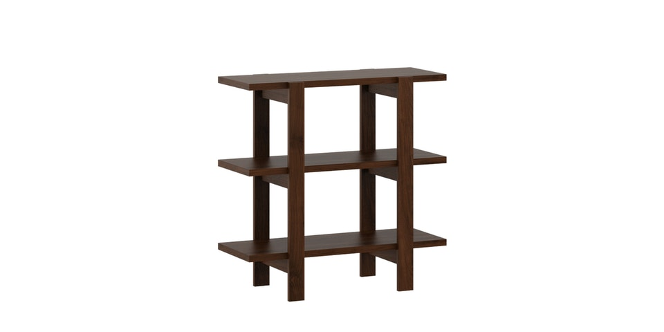 Pro Design Marsden Unit Rak 2x1 - Brown Walnut
