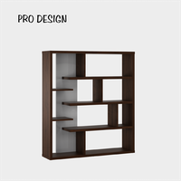 Pro Design Zara Lemari Pembatas - Brown Walnut - White Gpo