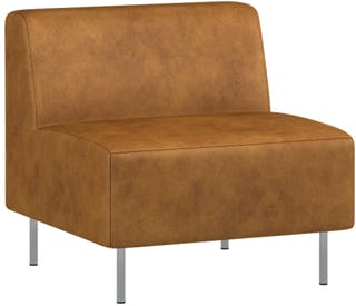 Pro Design Miracle Sofa Modular 1 Dudukan Leather - Copper Brown Ch