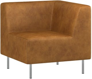 Pro Design Miracle Sofa Sudut Modular Leather - Copper Brown Ch