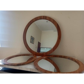 lulu home circle mirror 80 cm