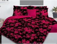 Pisteos Set Sprei Allegra Red 200x200x30