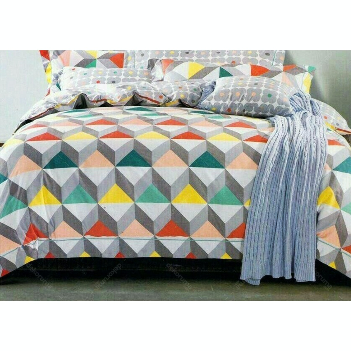 Pisteos Set Sprei New York 180x200x30