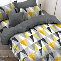 Pisteos Set Sprei Element Yellow 120x200x30