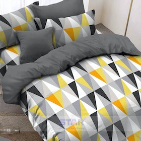 Pisteos Set Sprei Element Yellow 160x200x30