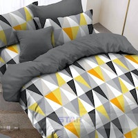 Pisteos Set Sprei Element Yellow 180x200x30