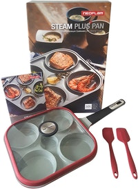 Neoflam STEAM PLUS Pan w/ Spatula & Turner