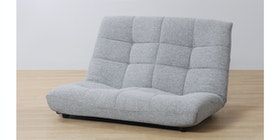 Atease By Inoac Sofa Prim Double Grey