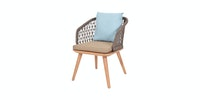 Pineapple Lifestyle Furniture Amara Dining Arm Chair
