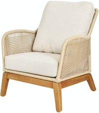 Pineapple Lifestyle Furniture Leon Lounge Arm Chair (Tiramisu)