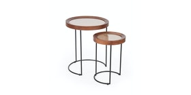 Pineapple Lifestyle Furniture Sienny Side Table Set of 2