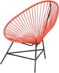 Pineapple Lifestyle Furniture Trifecta Lounge Chair (Chilli)