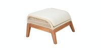 Pineapple Lifestyle Furniture Leon Footstool (Tiramisu)