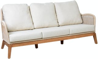 Pineapple Lifestyle Furniture Leon 3-Seater Sofa (Tiramisu)