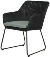 Pineapple Lifestyle Furniture Avilla Dining Arm Chair (Anthracite)
