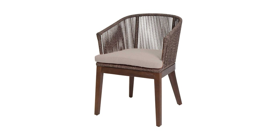 Pineapple Lifestyle Furniture Gloria Dining Arm Chair