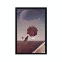 Poster House Poster Twin Moon - 20x30