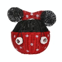 Pouffie Rottan Minnie Mouse