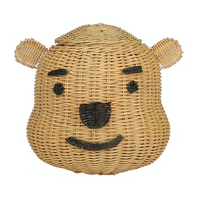 Pouffie Rottan Winnie the pooh with handle