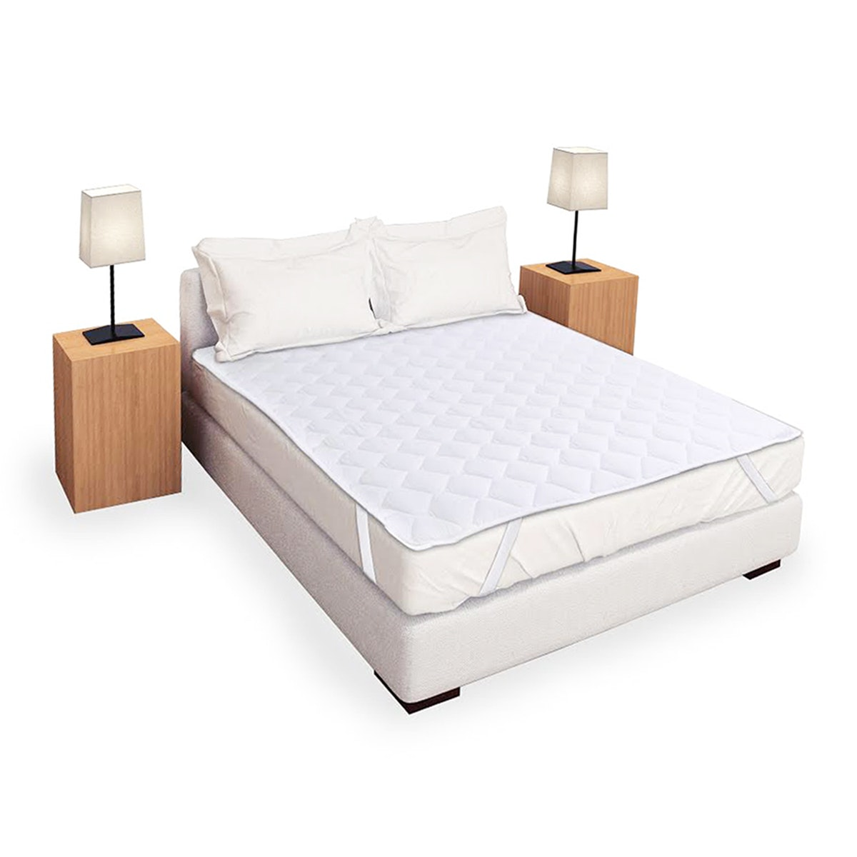 Pillow People Matras Protector Standard 160X200 Putih