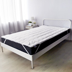 Pillow People Matras Protector Hemat White 200x200cm