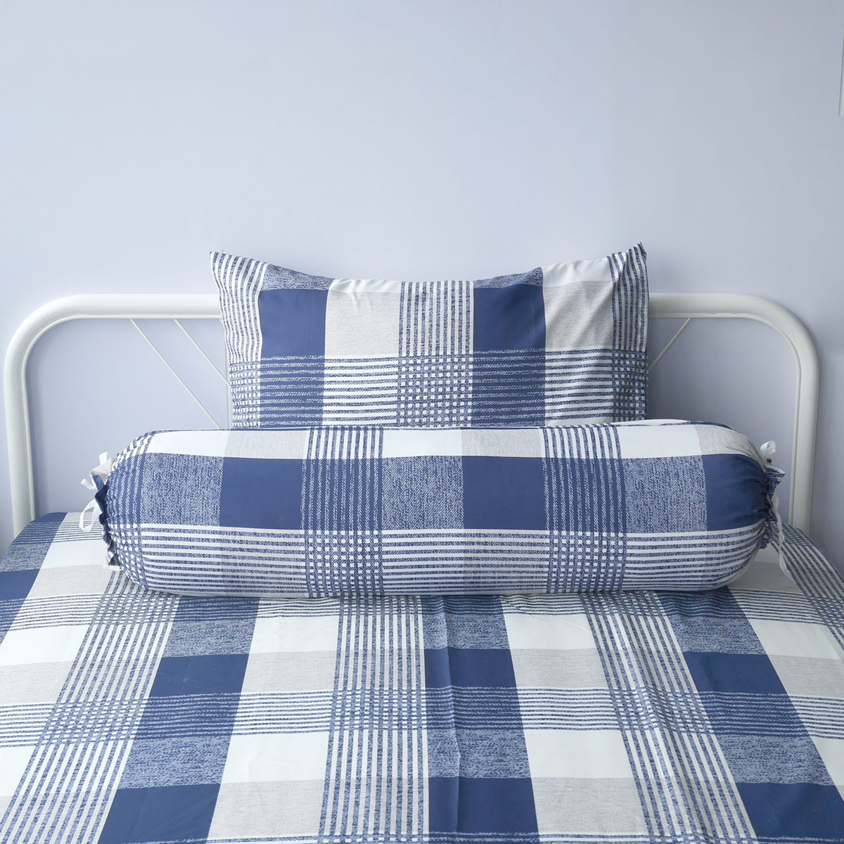 Pillow People Set Sprei Square Navy 160x200cm